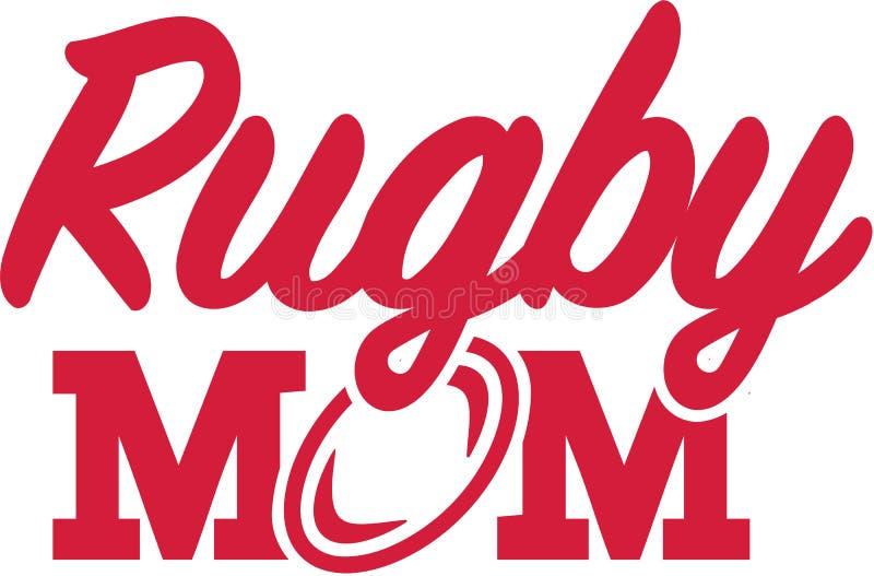 Rugby-Mutter vektor abbildung