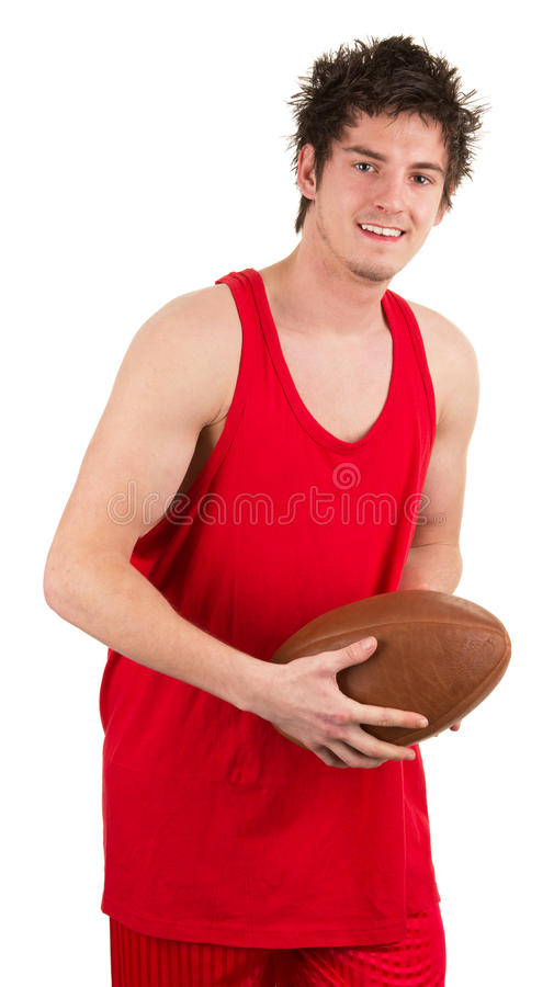 Download Rugby player stock photo. Image of caucasian, happy, exercise - 25218174