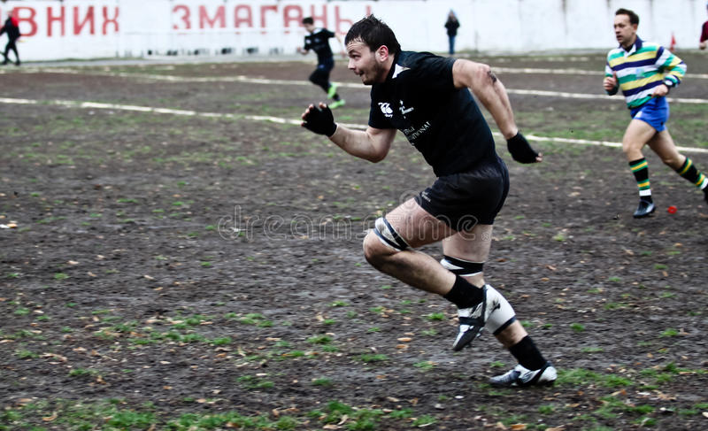 Download Rugby players in action editorial photo. Image of danger - 17263211
