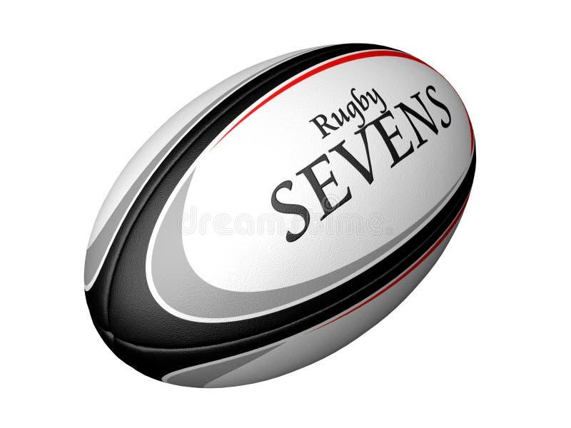 Rugby Sevens royalty-vrije illustratie