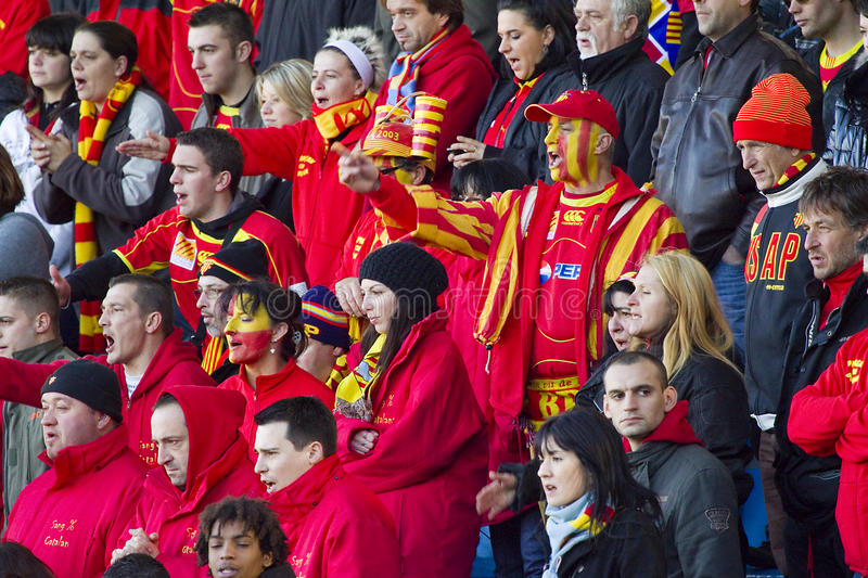 Download Rugby Supporters Editorial Photo - Image: 29077336