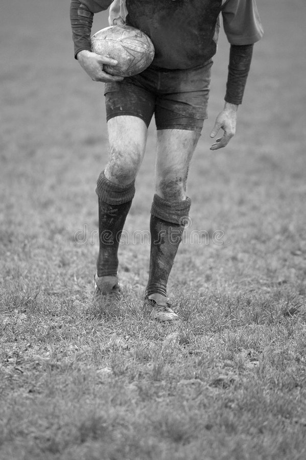 Download Rugby Tee stock photo. Image of ball, boots, boot, action - 1779176