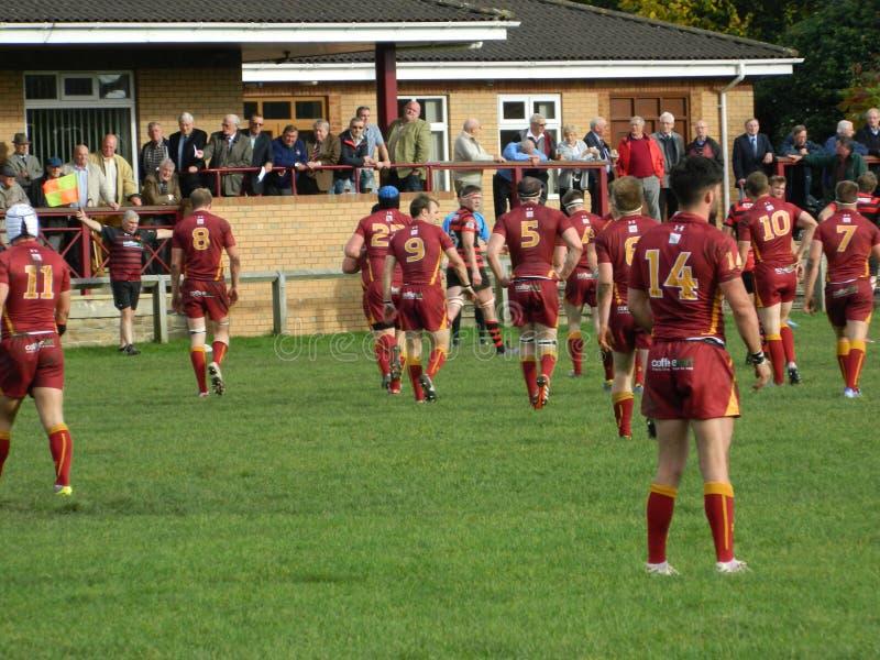Rugby-Verband lizenzfreies stockbild