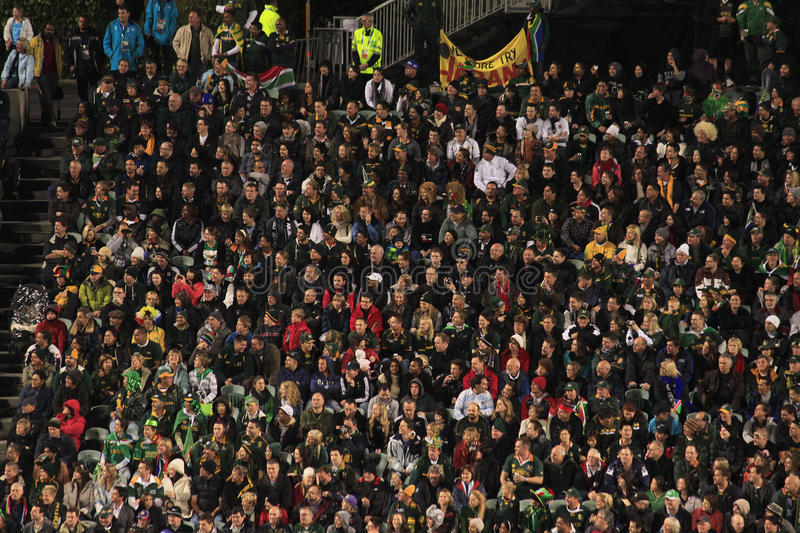 Download Rugby World Cup 2011 Spectators Editorial Photography - Image: 21283917