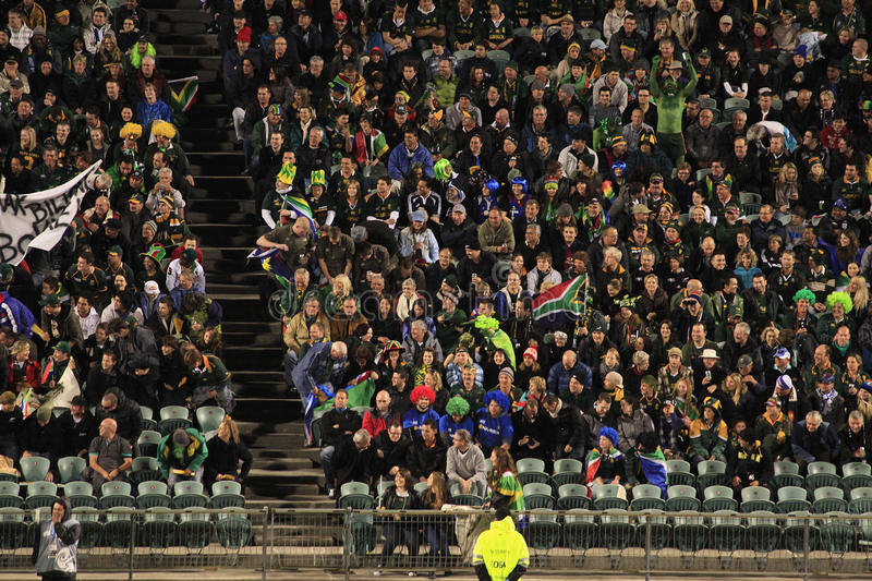 Download Rugby World Cup 2011 Spectators Editorial Photo - Image: 21283921