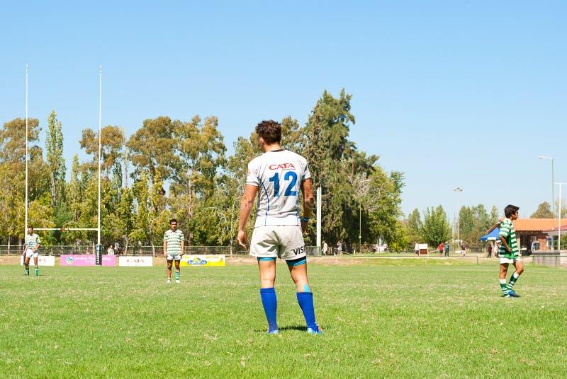 Rugbyabgleichung stockbild