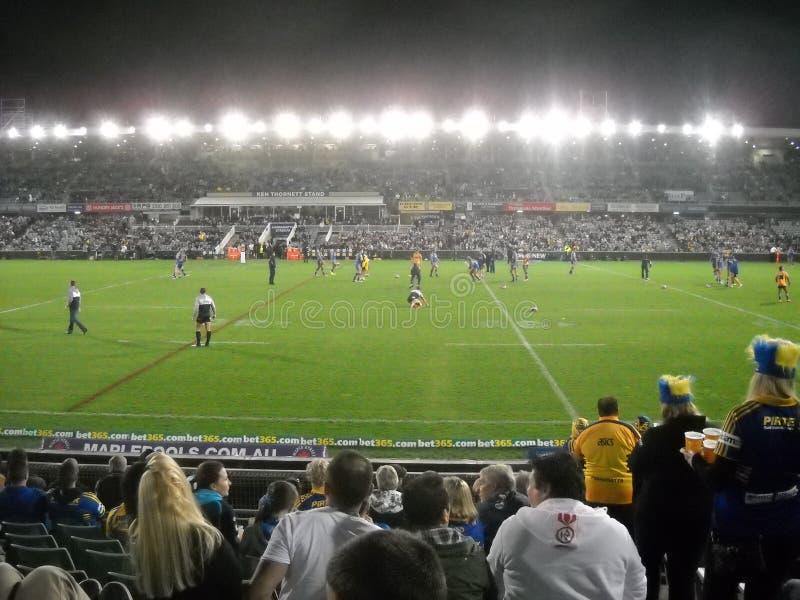 Rugbyhändelse royaltyfria foton