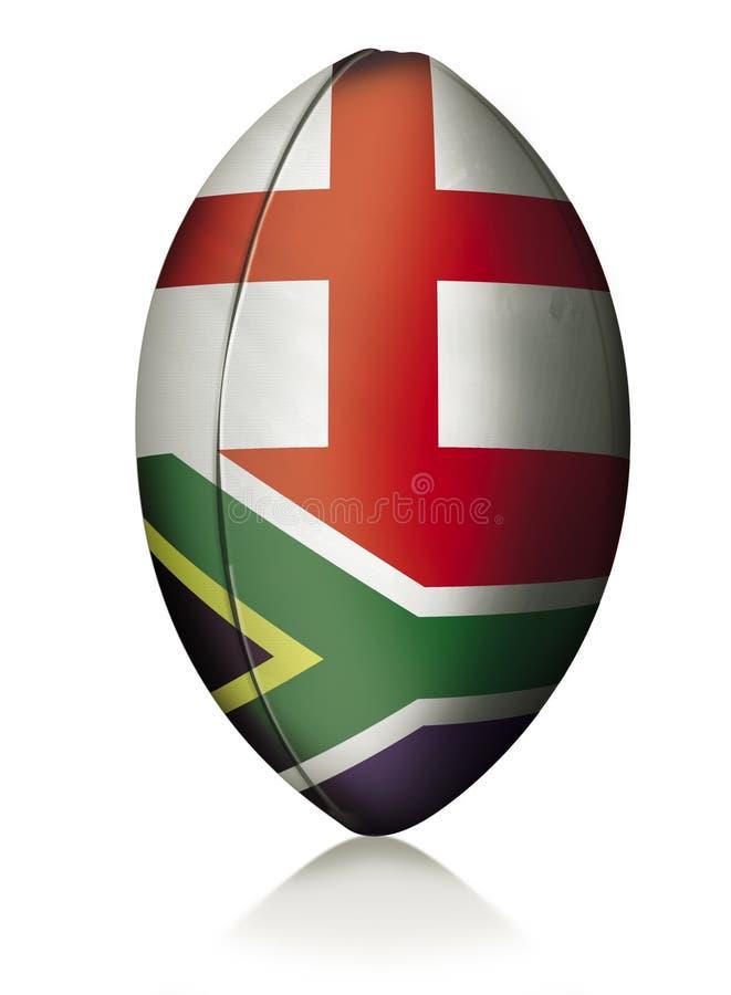 Rugbykugel stock abbildung