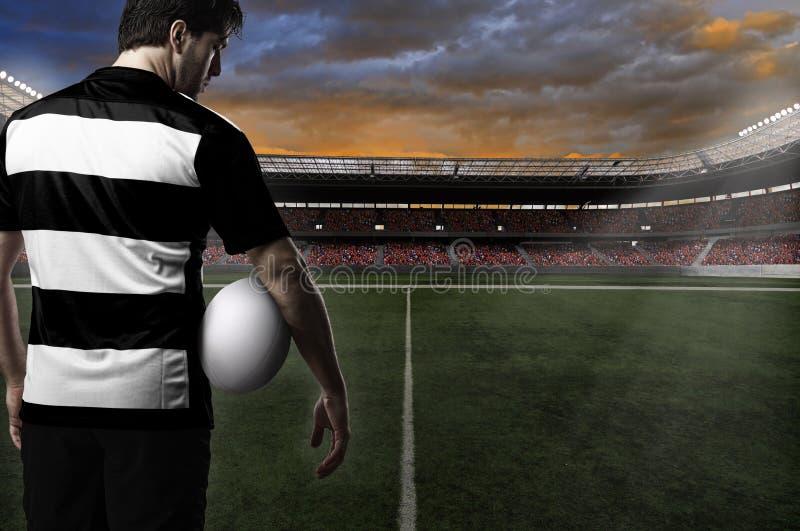 Rugbyspeler stock fotografie