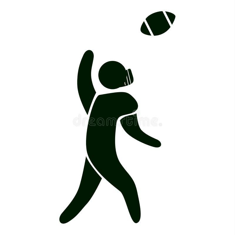 rugbysymbol stock illustrationer
