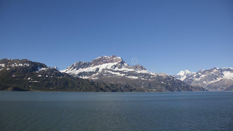 Rugged alaska mountains. In glacier national park stock image