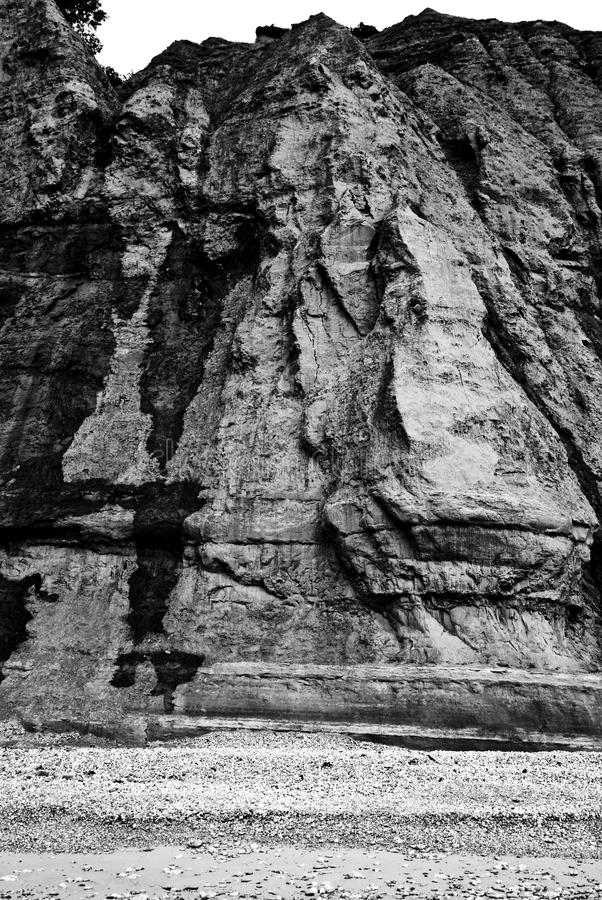 Rugged Cliff Face Royalty Free Stock Photography