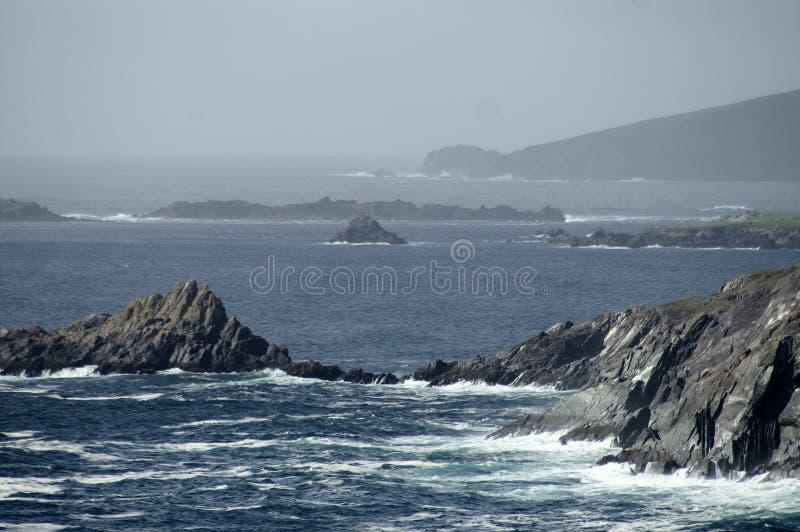 Rugged Irish coast royalty free stock images