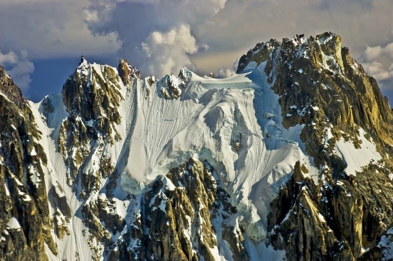 Rugged Mountain Peak stock images