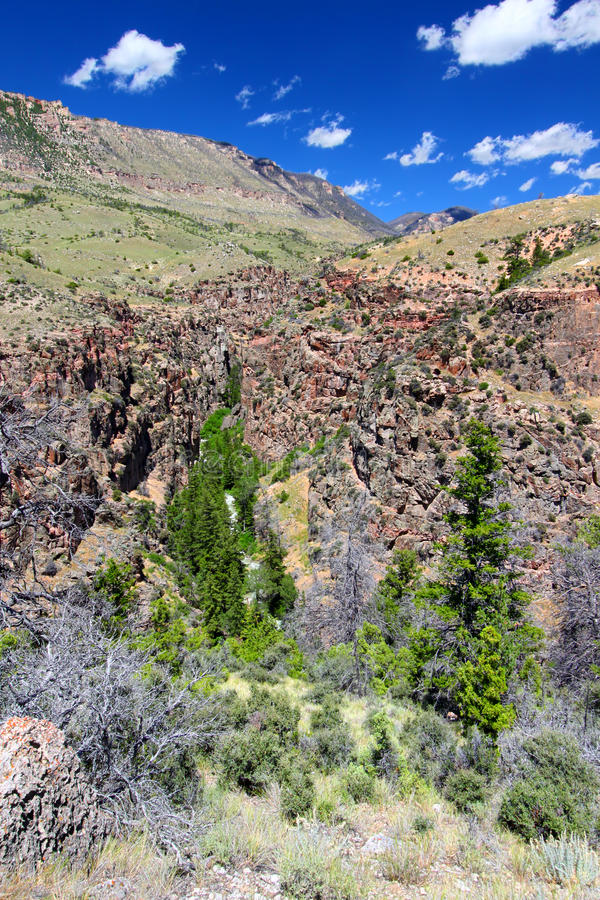 Free Rugged Mountain Scenery Of Wyoming Royalty Free Stock Images - 34513549