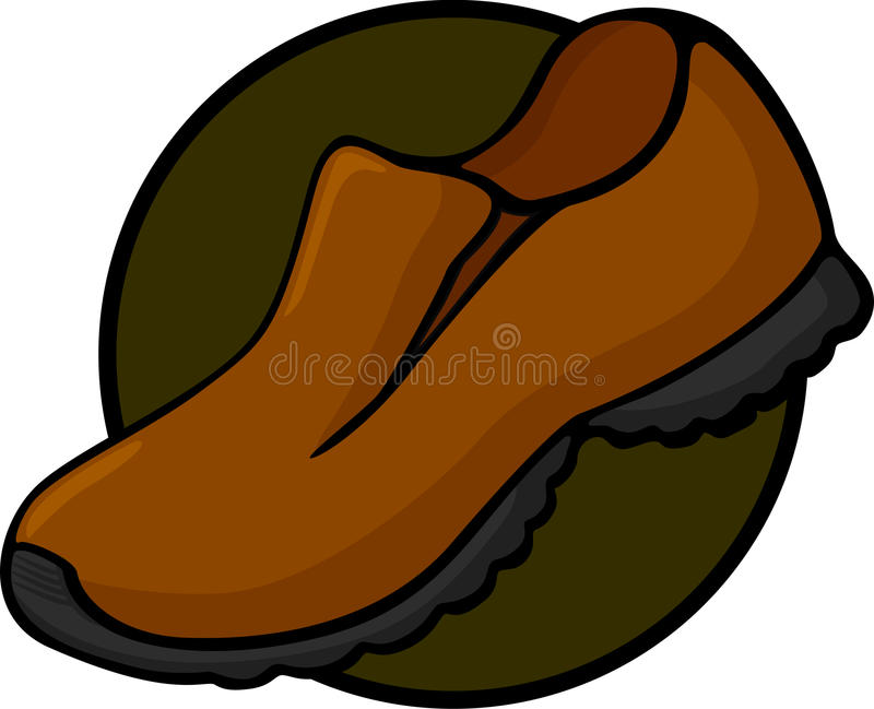Download Rugged outdoor shoe stock vector. Illustration of leather - 20972602