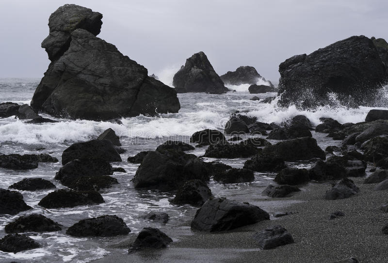 Download Rugged Pacific Coast In California Stock Photo - Image: 31772388
