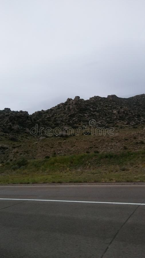 Rugged Rock stock image