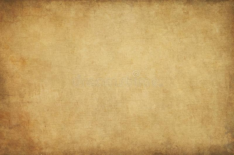 Rugged wrinkled yellow background texture. Rugged wrinkled and yellow paper background texture royalty free illustration