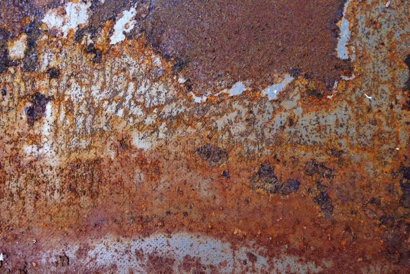 Ruggine del ferro fotografia stock