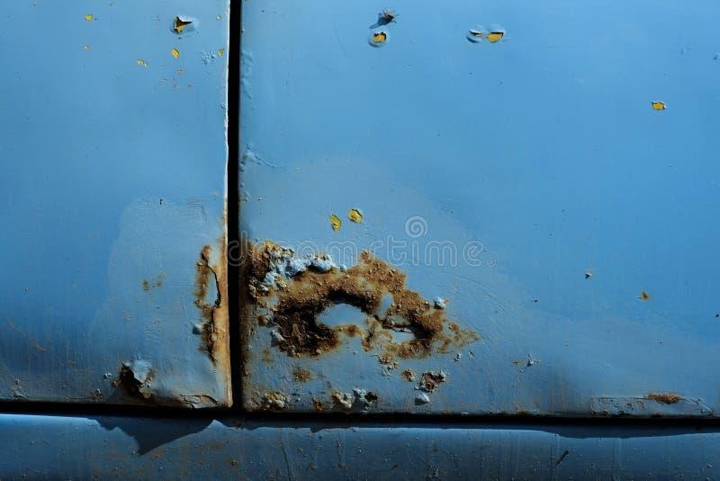 Ruggine su un'automobile fotografie stock libere da diritti