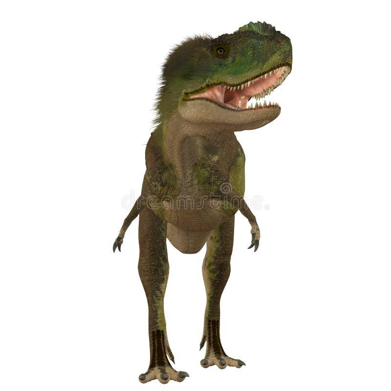 Rugops Carnivore dinosaur ilustracja wektor