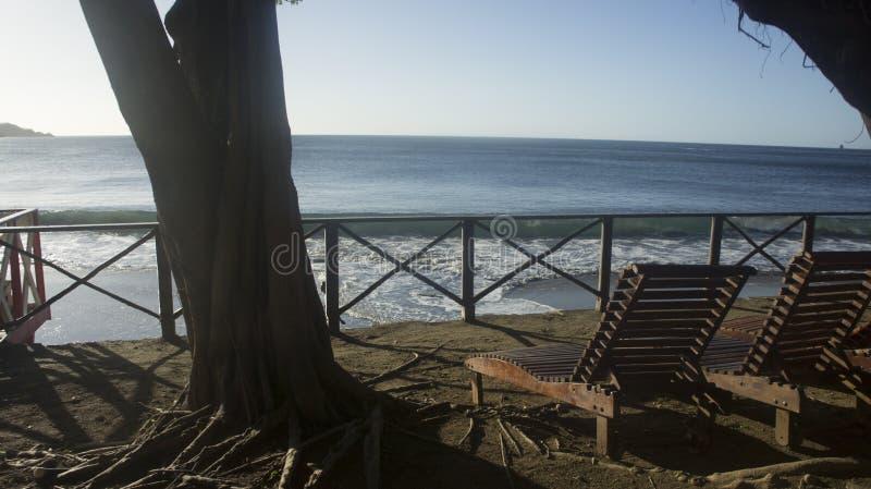 Ruhe auf dem Meer stockfotos