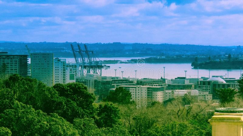 Ruhe-Stadt lizenzfreies stockfoto