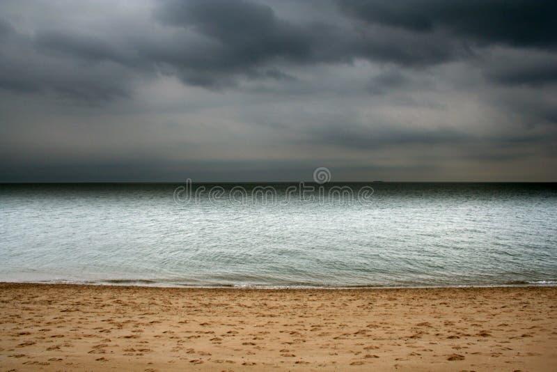 Ruhe vor dem Sturm lizenzfreies stockbild