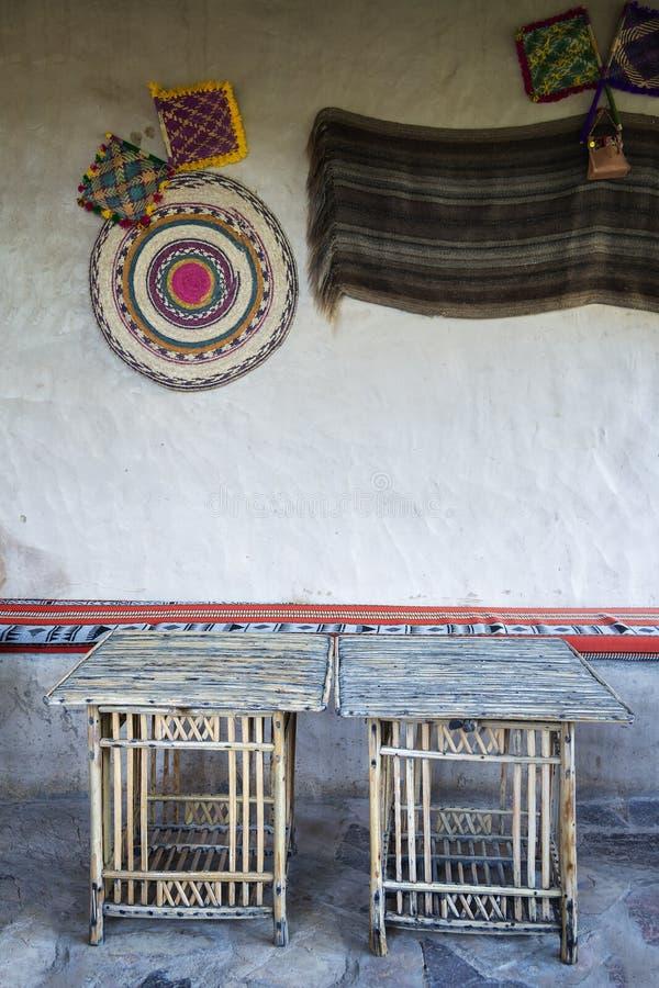 Ruheplatz Misfah Abreyeen stockfoto