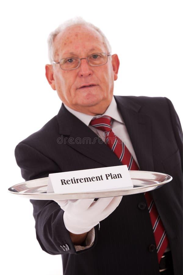 Ruhestand-Plan Lizenzfreie Stockbilder