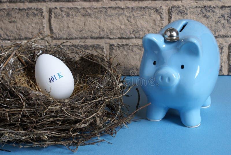 Ruhestands-Nest lizenzfreie stockbilder