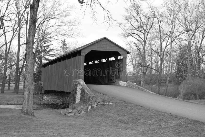 Ruhige Brücke stockbild