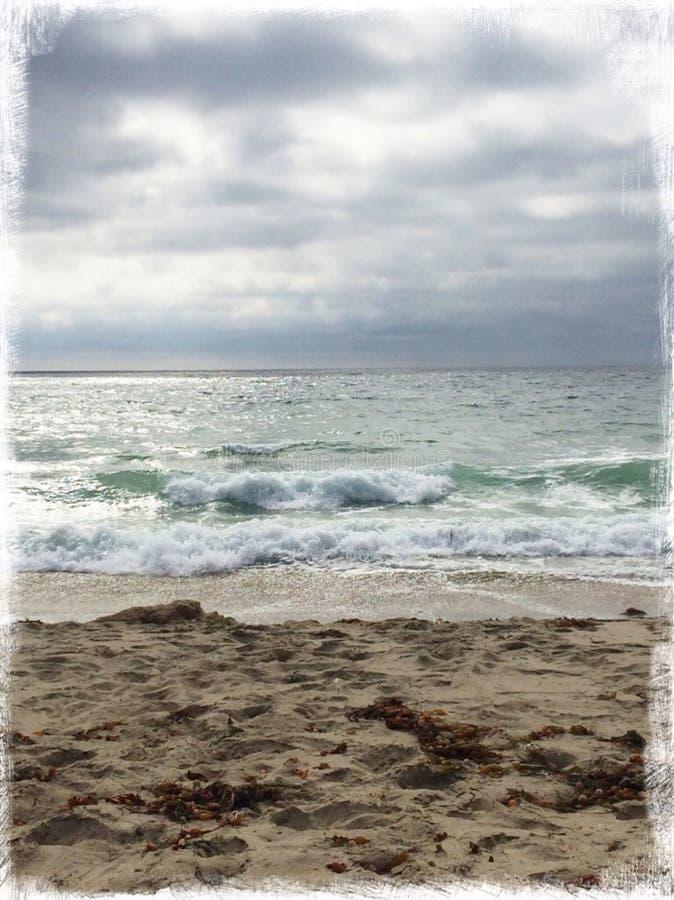 Ruhige Meere stockfoto