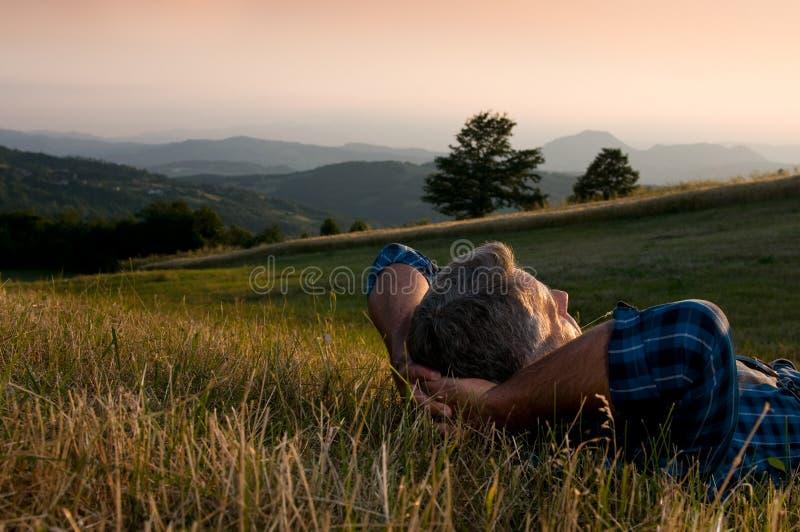 Ruhiger Bruch und entspannen sich lizenzfreie stockfotografie