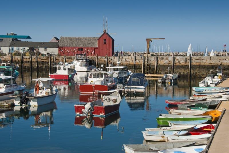 Ruhiger Hafen stockfoto