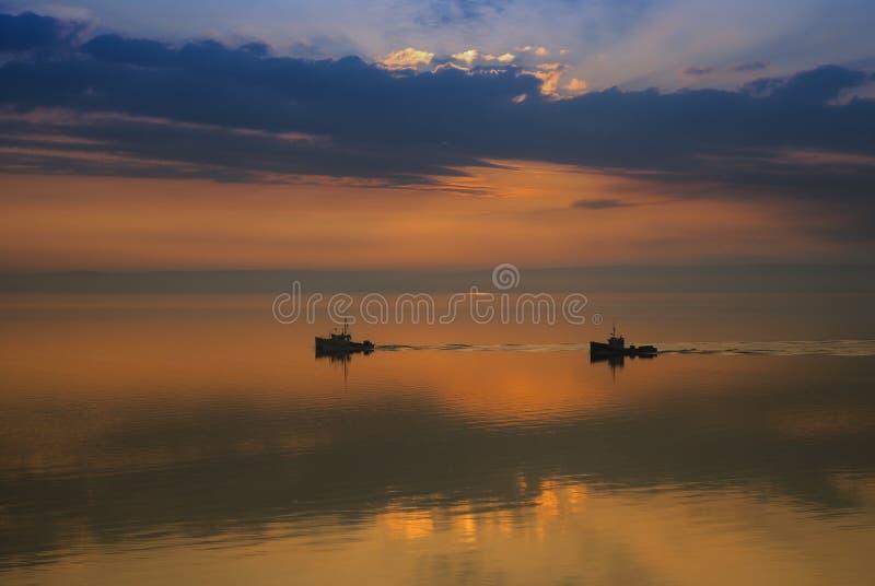 Ruhiger Morgen stockfoto