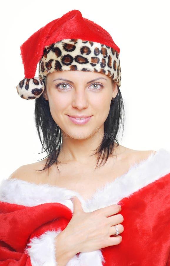 Ruhiger Weihnachtsmann lizenzfreies stockfoto