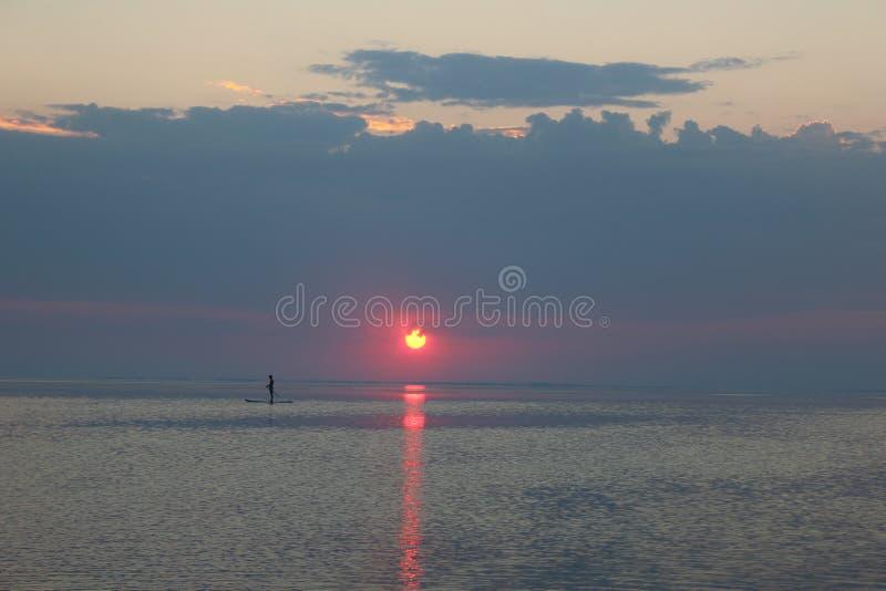 Ruhiges Meer lizenzfreies stockbild