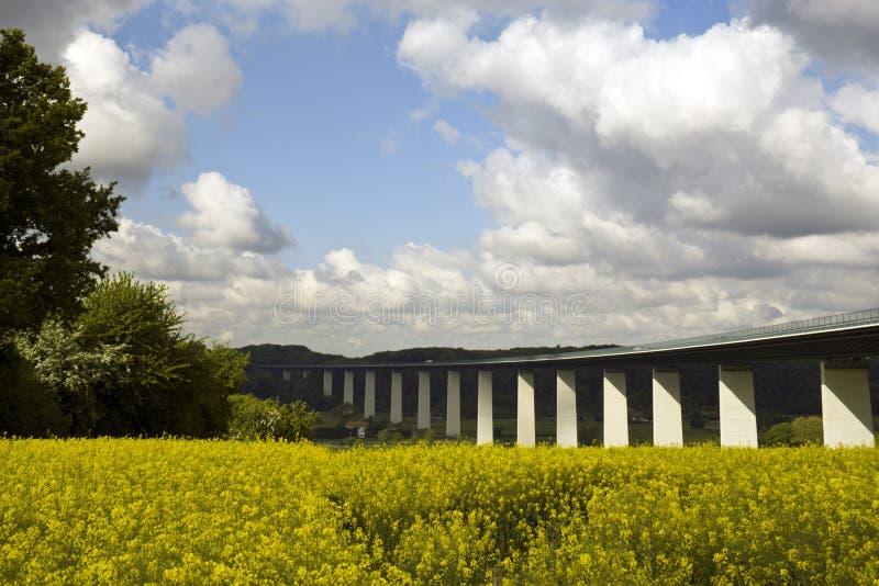 Ruhr valleibrug stock fotografie
