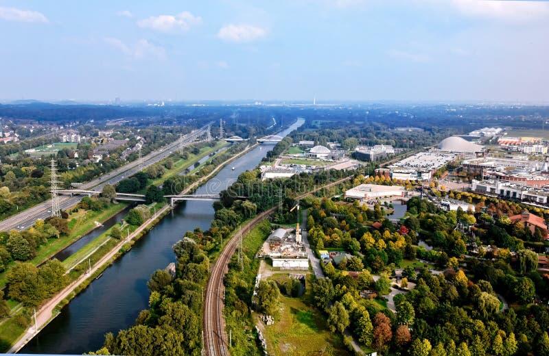 Ruhr Valley arkivbild