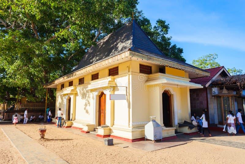 Ruhunu玛哈Kataragama寺庙 免版税库存图片