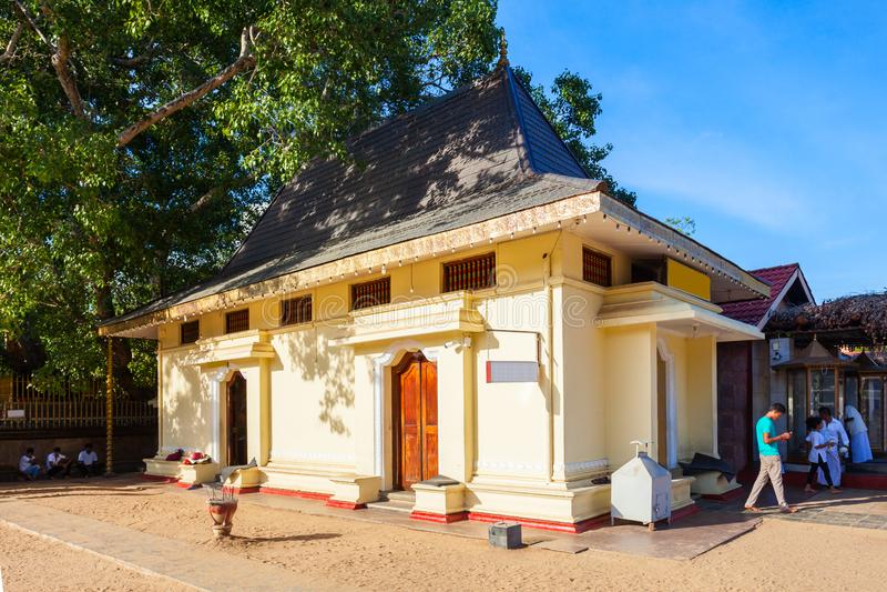 Ruhunu Maha Kataragama Temple imágenes de archivo libres de regalías