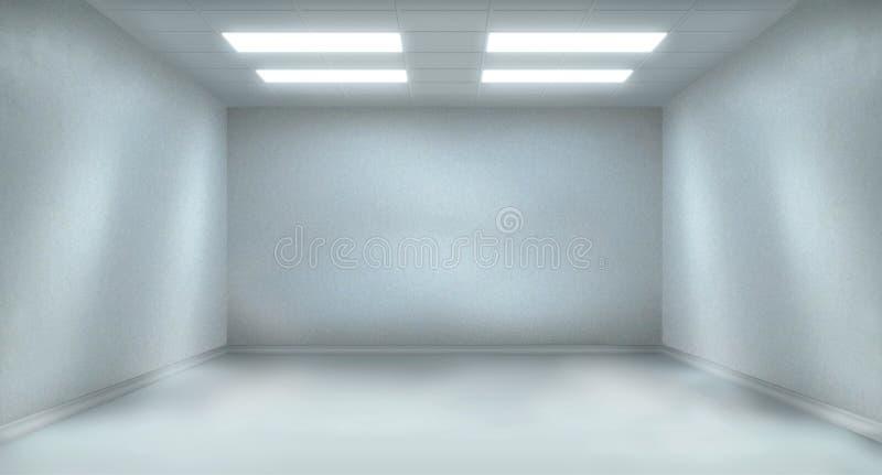 Ruime ruimte stock illustratie