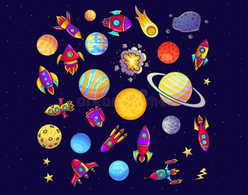 ruimte stock foto