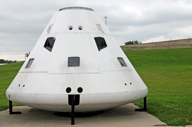Ruimte de capsulemodel van Apollo stock afbeelding