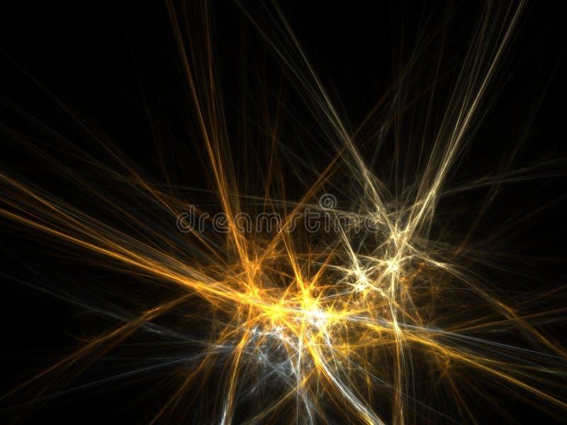 Ruimte lichte achtergrond vector illustratie