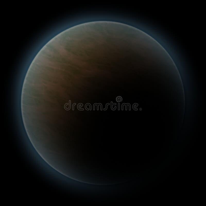 Ruimte planeet vector illustratie