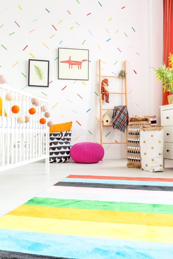 Ruimte voor baby stock afbeelding