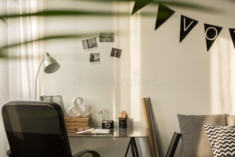 Ruimte voor het werk stock fotografie